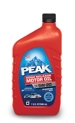 Peak High Mileage Motor Oil from Inventory Express