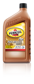 Penzoil High Mileage Synthetic Motor Oil from Inventory Express