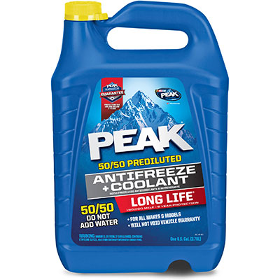 Bulk industrial Peak antifreeze & coolant available for free delivery by Inventory Express in Southwestern Ontario