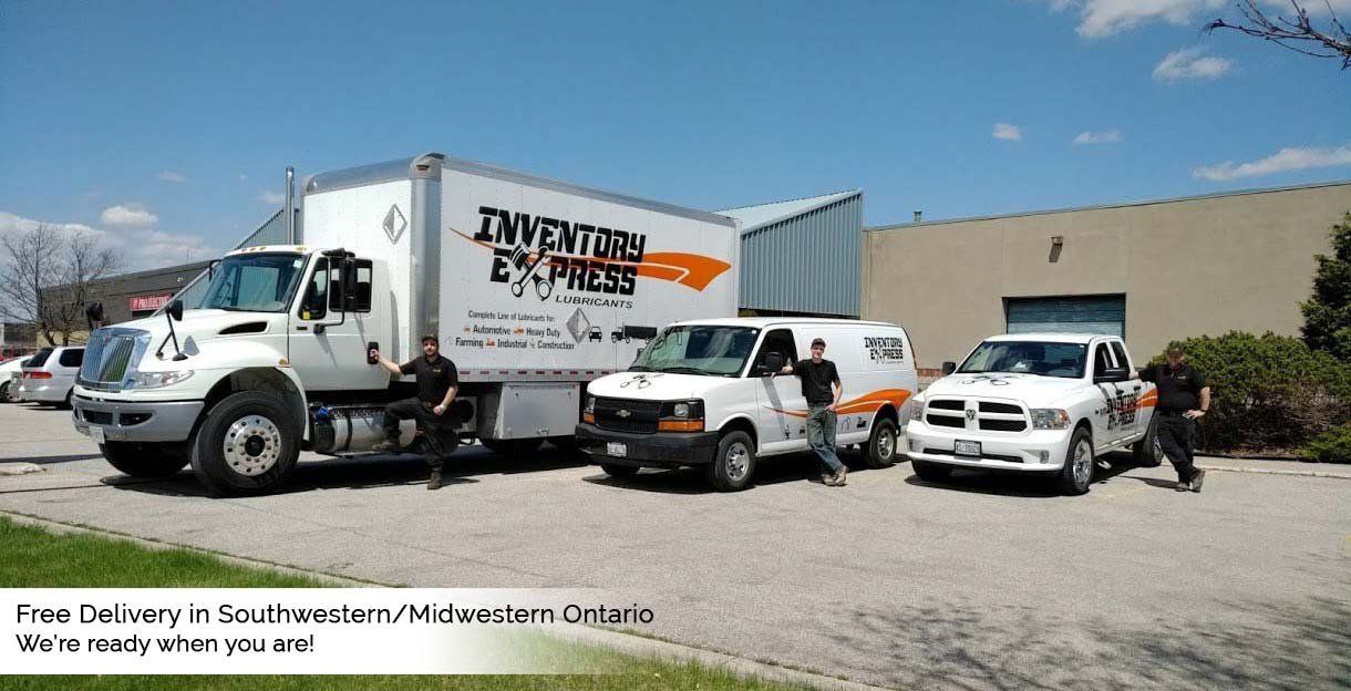 Inventory Express Bulk Oil Delivery - Free Delivery in Southwestern/ Midwestern Ontario